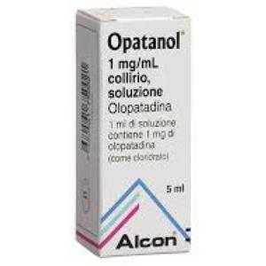 Novartis Opatanol collirio 1 flacone 5ml 1mg/ml