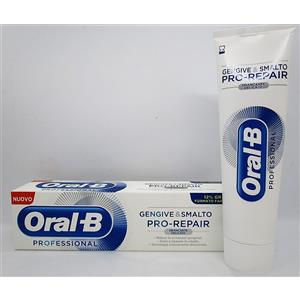 Oral-B Dentifricio Gengive e Smalto Pro-Repair White Sbiancante Delicato 85ml