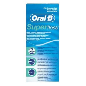 oral b filo interdentale super floss