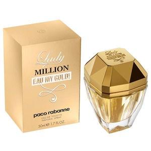 Paco rabanne lady million eau my gold 50ml