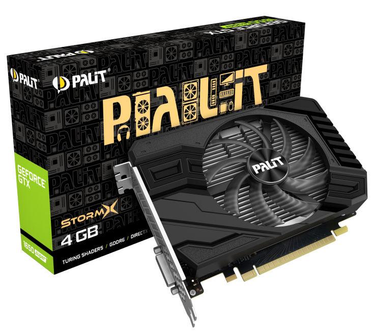 Palit GeForce GTX 1650 SUPER StormX 4GB