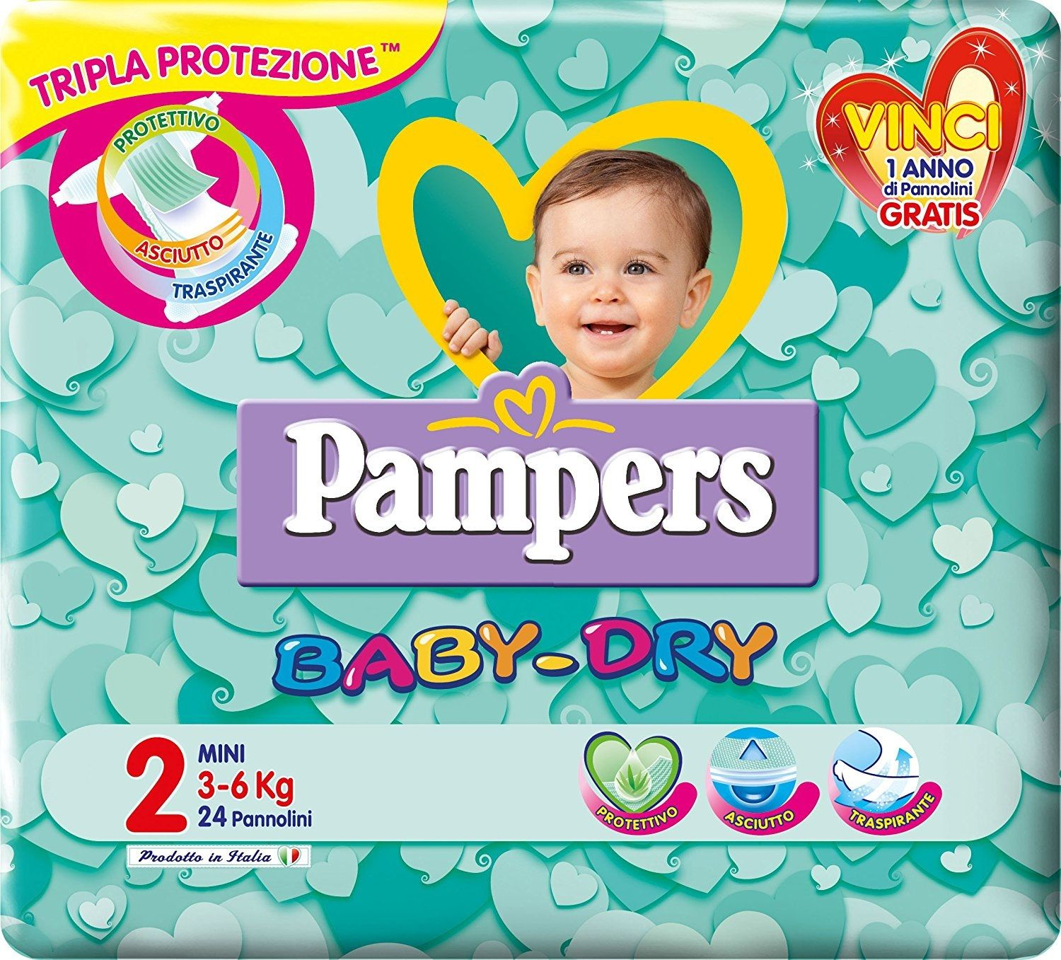 Pampers Baby-Dry 2