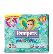 Pampers Baby-Dry 3