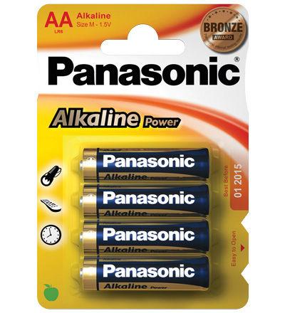 Panasonic Alkaline Power AA (4 pz)