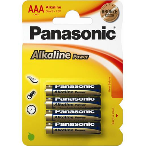 Panasonic Alkaline Power AAA (4 pz)