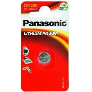 Panasonic Lithium Power CR1220 (1 pz)