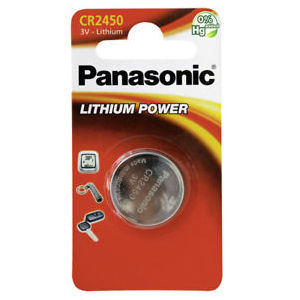 Panasonic Lithium Power CR2450 (1 pz)