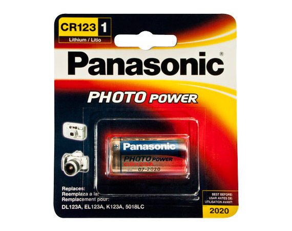 Panasonic Photo Power CR123A (1 pz)