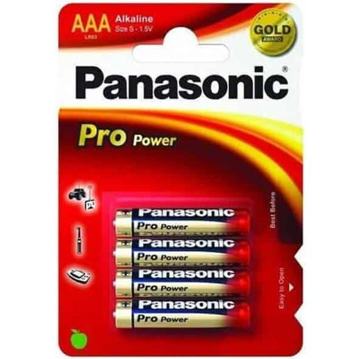 Panasonic Pro Power AAA (4 pz)