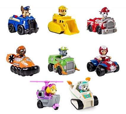 Paw Patrol Racers personaggio assortito