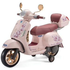 Peg Perego Moto Elettrica Vespa Mon Amour