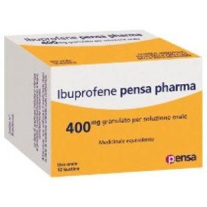 Pensa Pharma Ibuprofene 12 bustine 400mg