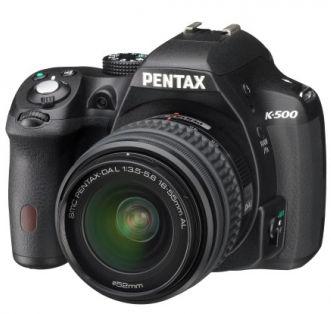 Pentax K500 + 18-55mm