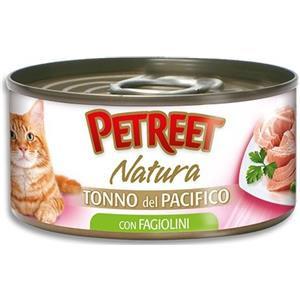 Petreet Natura Tonno Rosa Fagiolini per Gatto - umido