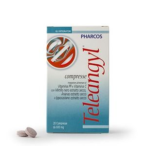 Pharcos Teleangyl 20compresse