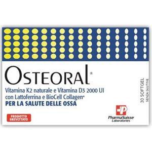 PharmaSuisse Osteoral 30capsule