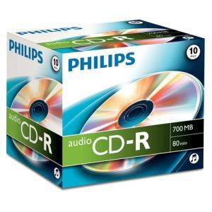 Philips CD-R 80 Min. (10 pcs)
