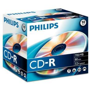 Philips CD-R 80 Min. 52x (10 pcs)