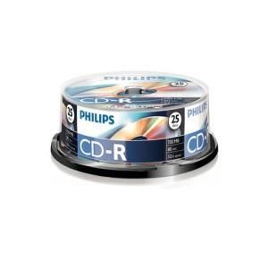 Philips CD-R 700 MB 52x (25 pcs)