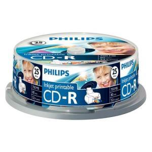 Philips CD-R 700 MB 52x Printable (25 pcs)