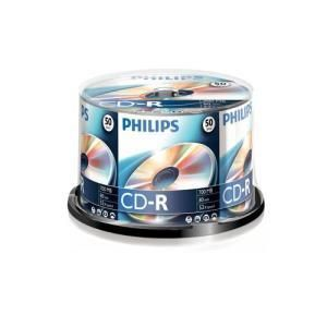 Philips CD-R 80 Min. 52x (50 pcs cakebox)