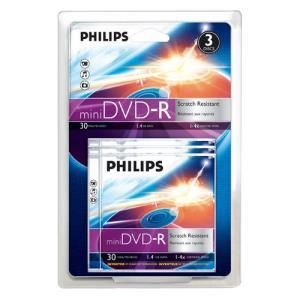 Philips DVD-R 1,4 GB 4x (3 pcs)