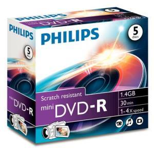 Philips DVD-R 1,4 GB 4x (5 pcs)