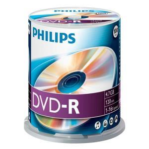Philips DVD-R 4,7 GB 16x (100 pcs cakebox)