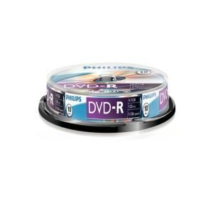 Philips DVD+R 4,7 GB 16x (10 pcs cakebox)