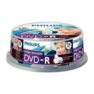 Philips DVD-R 4,7 GB 16x (25 pcs cakebox) Printable