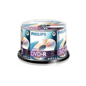 Philips DVD-R 4,7 GB 16x (50 pcs cakebox)