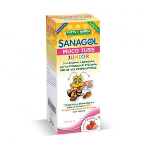 Phytogarda Sanagol Muco Tuss Junior 150ml