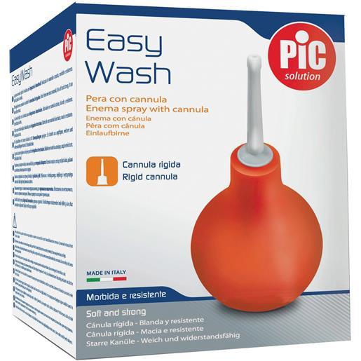 Pic Easy Wash Pera con Cannula Rigida n.6