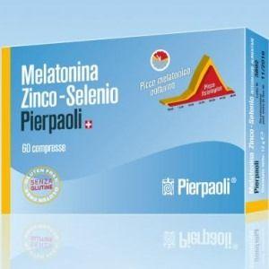 Pierpaoli melatonina zinco selenio 60cpr
