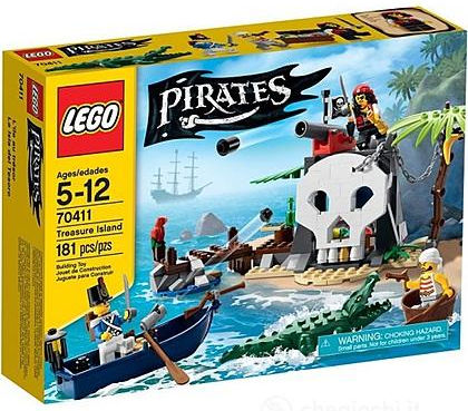 Lego Pirates 70411 L'Isola del Tesoro