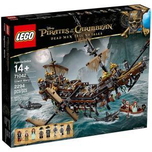 Pirati dei caraibi 71042 veliero silent mary