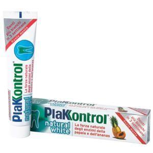 Plakkontrol Natural White Dentifricio