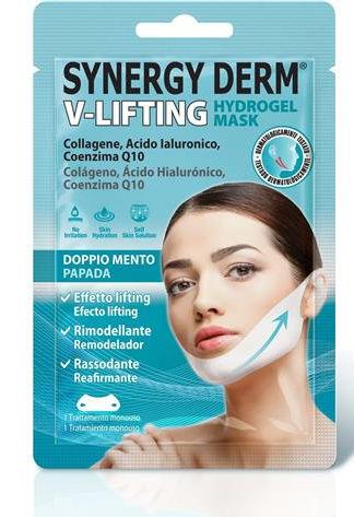Planet Pharma Synergy Derm V Lifting Hydrogel Mask Doppio Mento