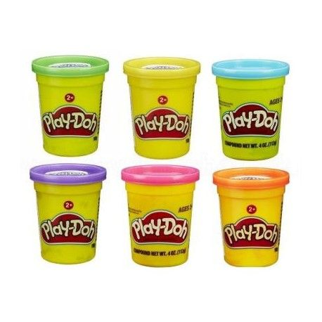 Play-Doh Vasetto singolo 112gr colori assortiti