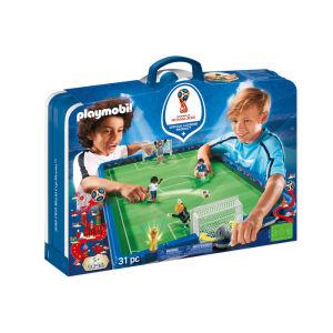 Playmobil 2018 fifa world cup russia campo da calcio portatile