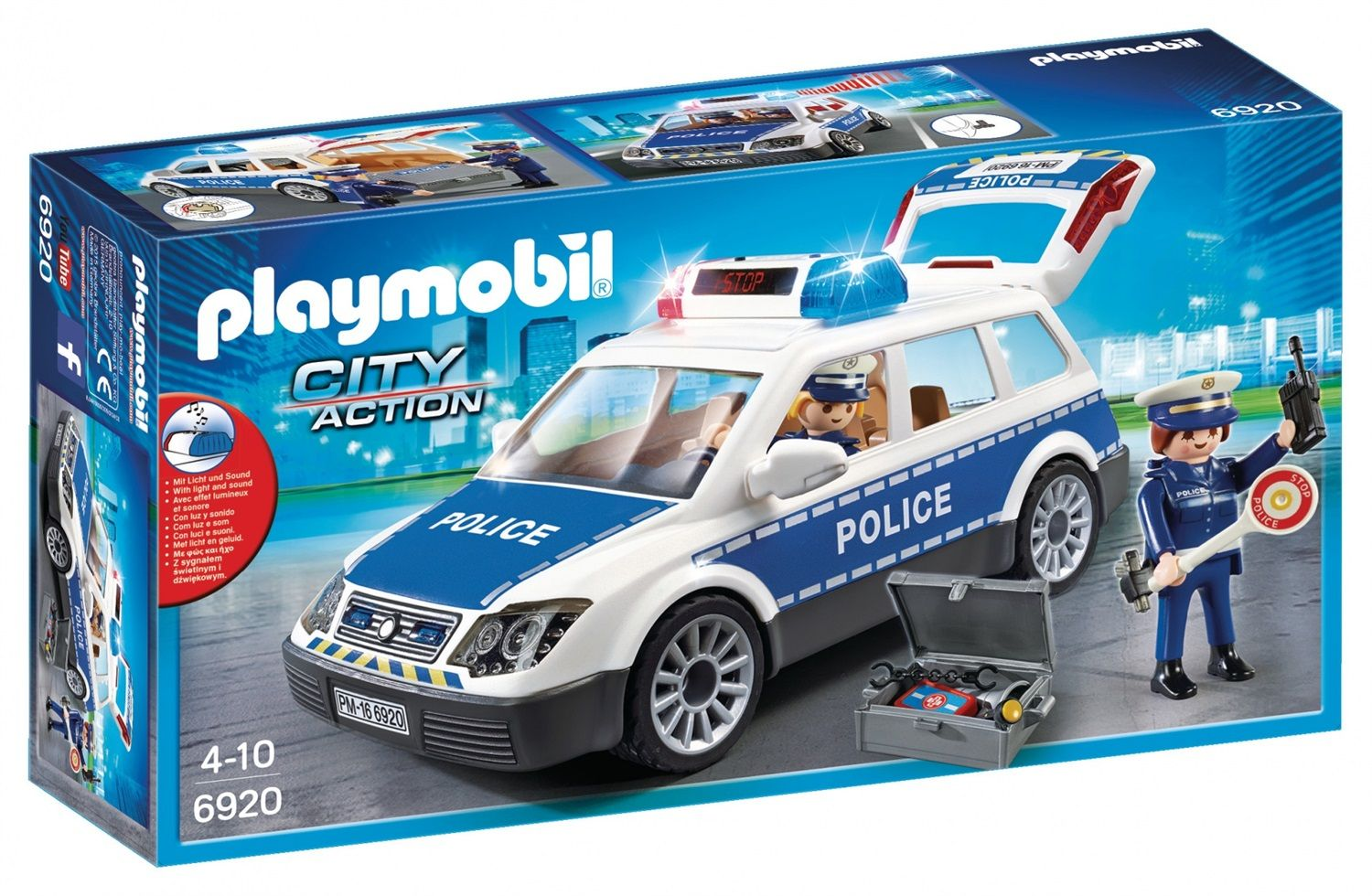 Playmobil City Action Auto della polizia