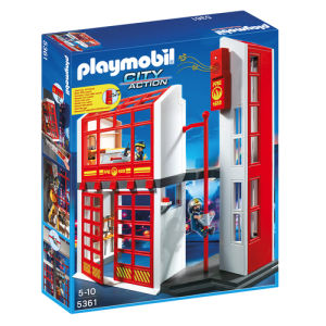 Playmobil City Action Stazione dei Vigili del Fuoco