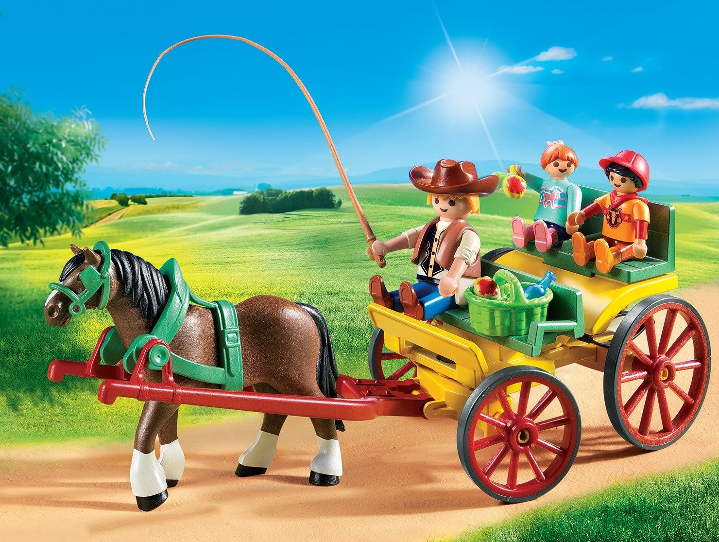 Playmobil Country Calesse con cavallo