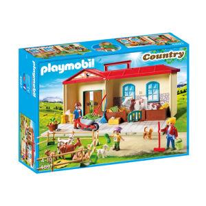 Playmobil Country Nuova fattoria portatile