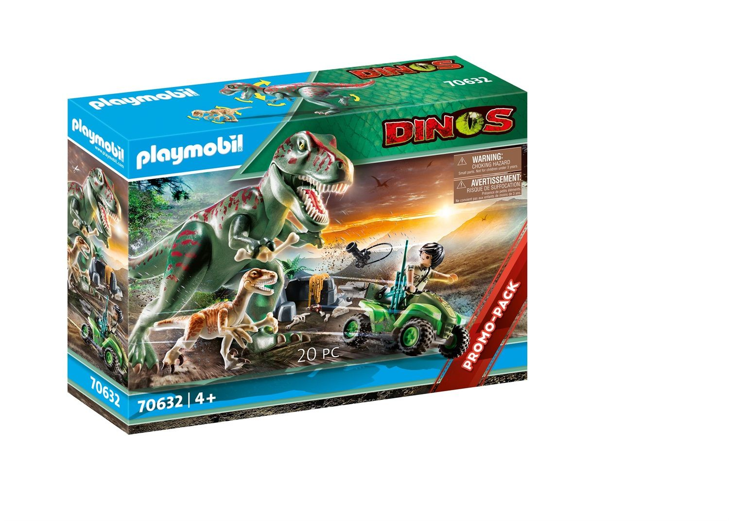 Playmobil Dinos T-Rex all'attacco