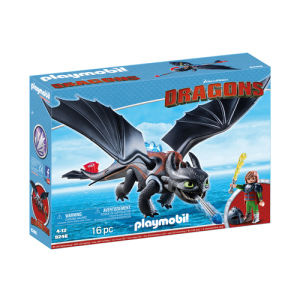 Playmobil Dragons Hiccup e Sdentato