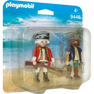 Playmobil Pirates Pirata e Soldato