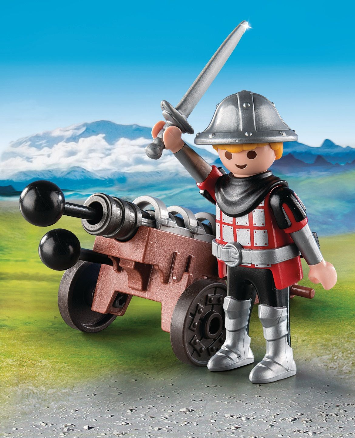 Playmobil Special Plus Cavaliere con cannone
