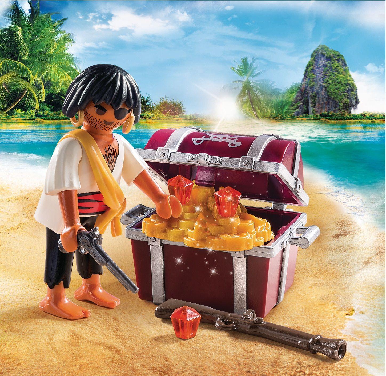 Playmobil Special Plus Pirata con scrigno del tesoro
