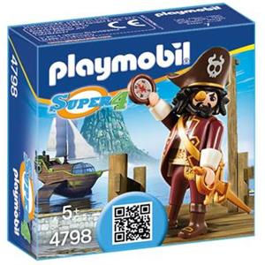 Playmobil Super 4 Barba squalo